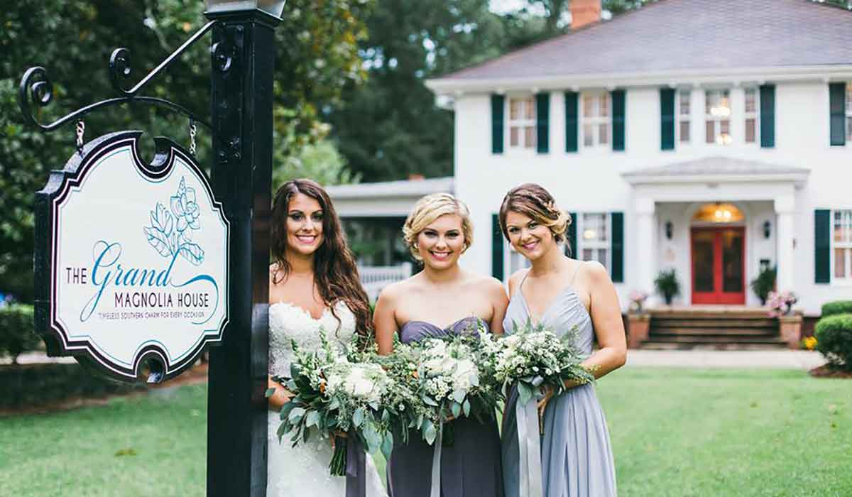Antebellum Macon Georgia Wedding Venue